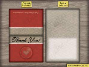Allison  –  Shower Thank You (Folded)