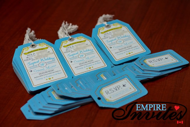 Blue Luggage Tag  Invites to Iberostar Resort Cozumel (1)