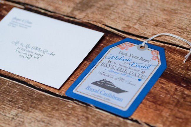 Blue Luggage tag Cruise Save The Date  (5)