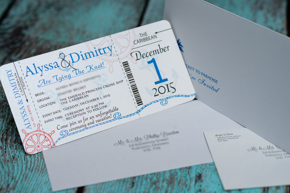 blue nautical boarding pass wedding inviation 4