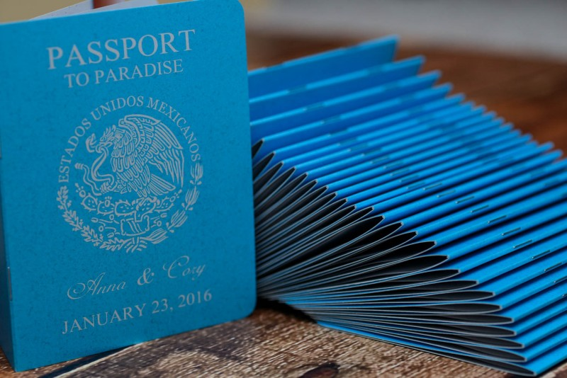 Custom Destination passport wedding invitations From Winnipeg – Custom Wedding Invitations Canada