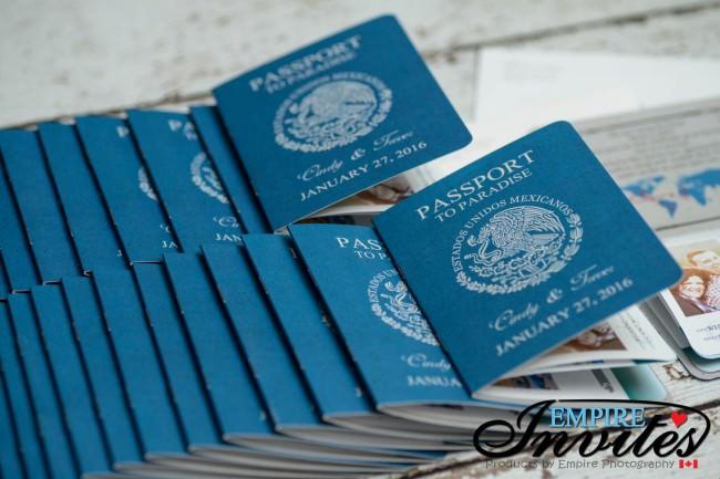 Blue Passport wedding invitations moon palace mexico (3)