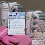 boots mits and ski pass wedding invite