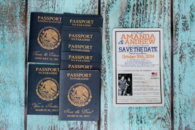 Blue orange Passport save the date Dreams Los Cabos resort (4)