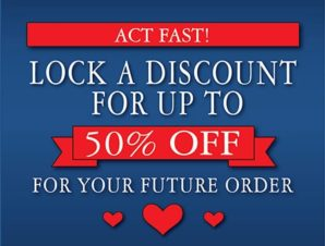 Future Order Discount