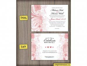 Floral Wedding Invitation (#31)