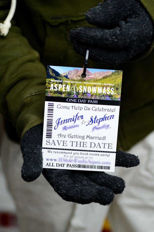 lift ticket save the date front