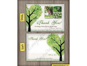 Harrison  –  Thank You Card 2