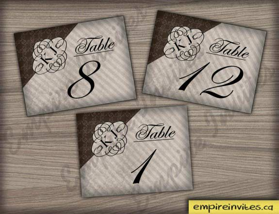 Joseph     Table Numbers 5x4