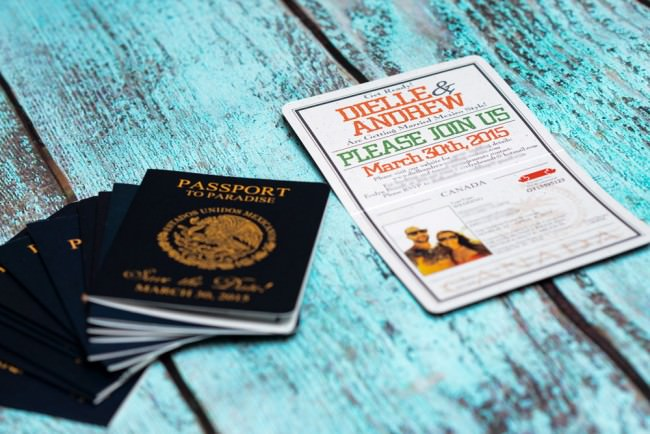 Orange Passport Save the date Grand Sunset Mexico (2)