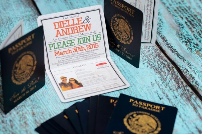 Orange Passport Save the date Grand Sunset Mexico (5)