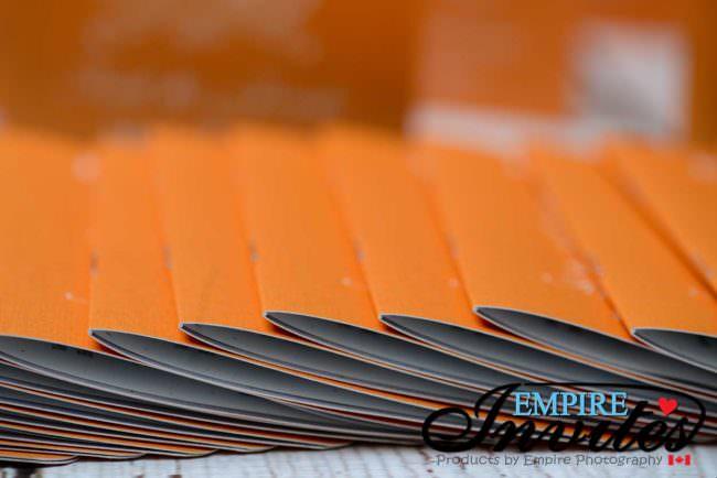 Orange Passport wedding invitations to Majestic Calonial Punta Cana (2)