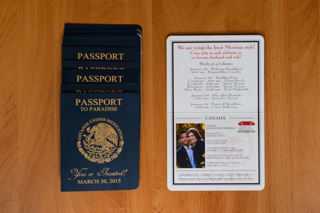 Passport Save The Date Moon Palace Mexico (5)