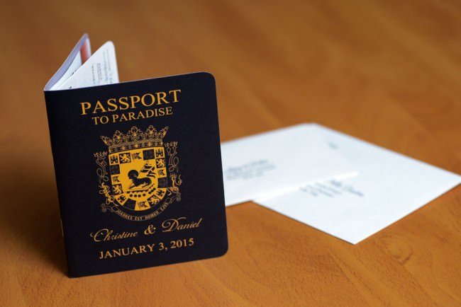 Passport Wedding Invitation Puerto Rico  (4)