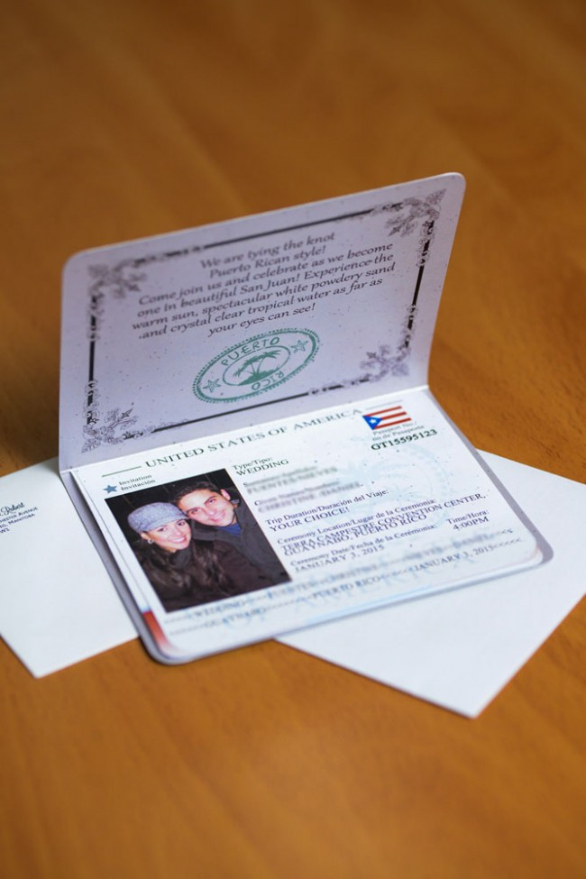 Passport Wedding Invitation Puerto Rico  (6)