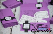 Purple Boarding Passes to Grand Bahia Principe Jamaica