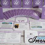purple invite collection