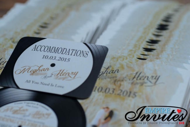 Record label wedding invitations (2)