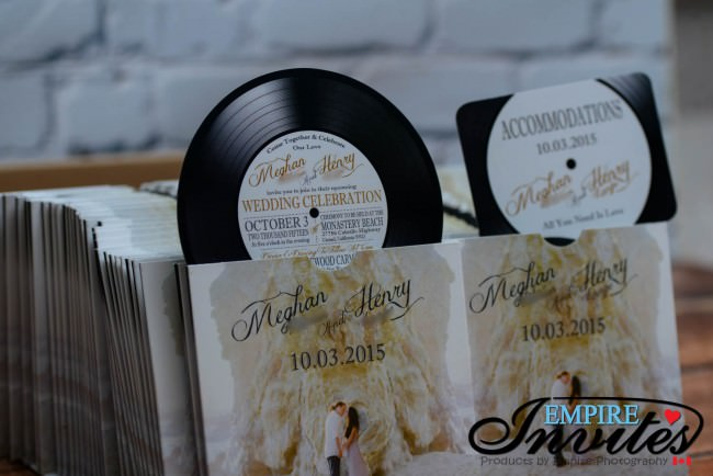 Record label wedding invitations (4)