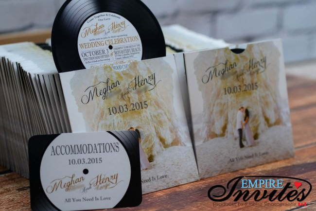 Record label wedding invitations (6)