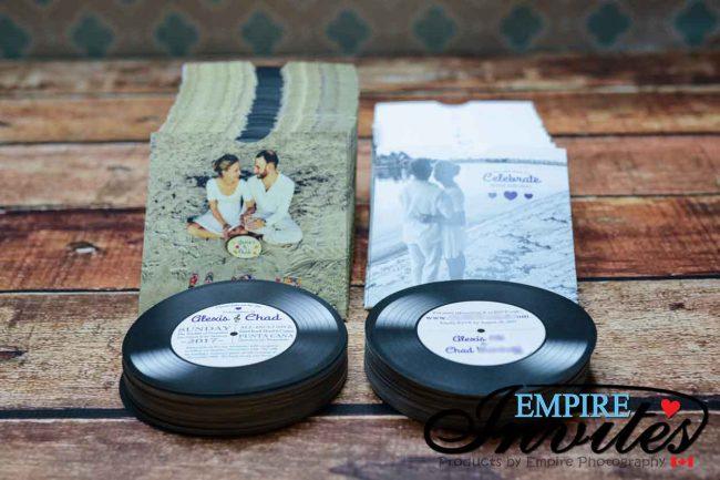 Record Wedding Invitations: Vinyl Record Wedding Invitations To Punta Cana