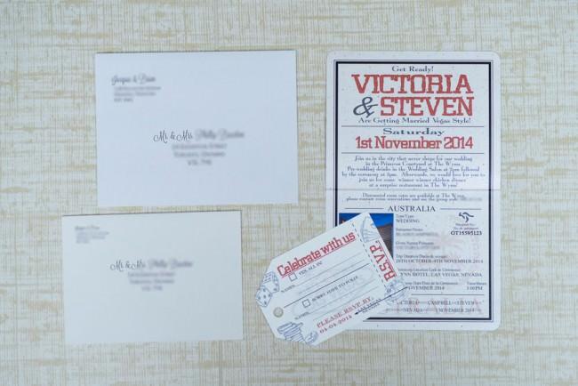 Red Passport Wedding Invitation Wynn Las Vegas (1)