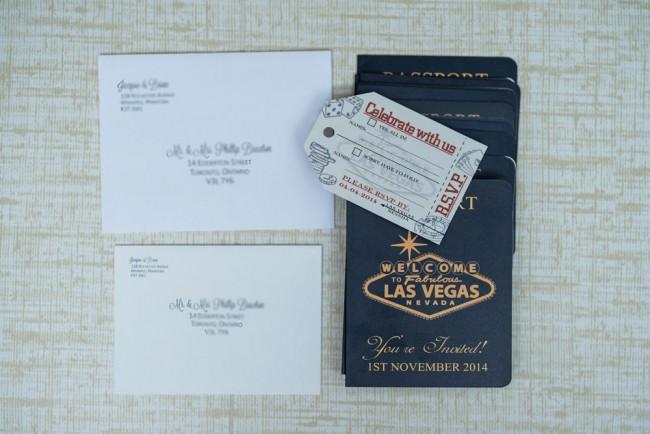Red Passport Wedding Invitation Wynn Las Vegas (2)