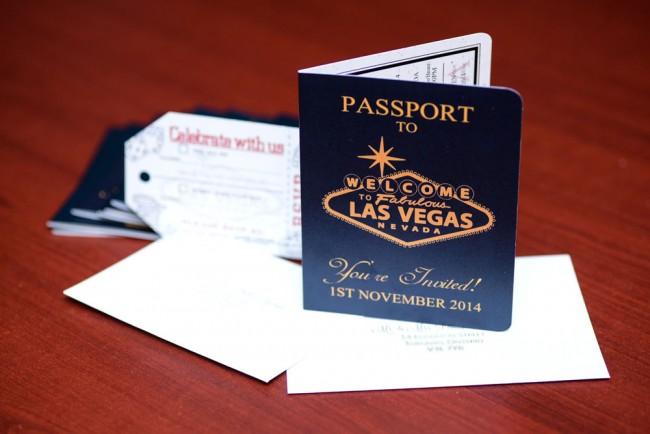 Red Passport Wedding Invitation Wynn Las Vegas (3)