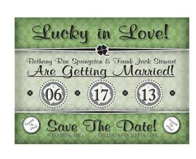 Scratch off Save the date 6