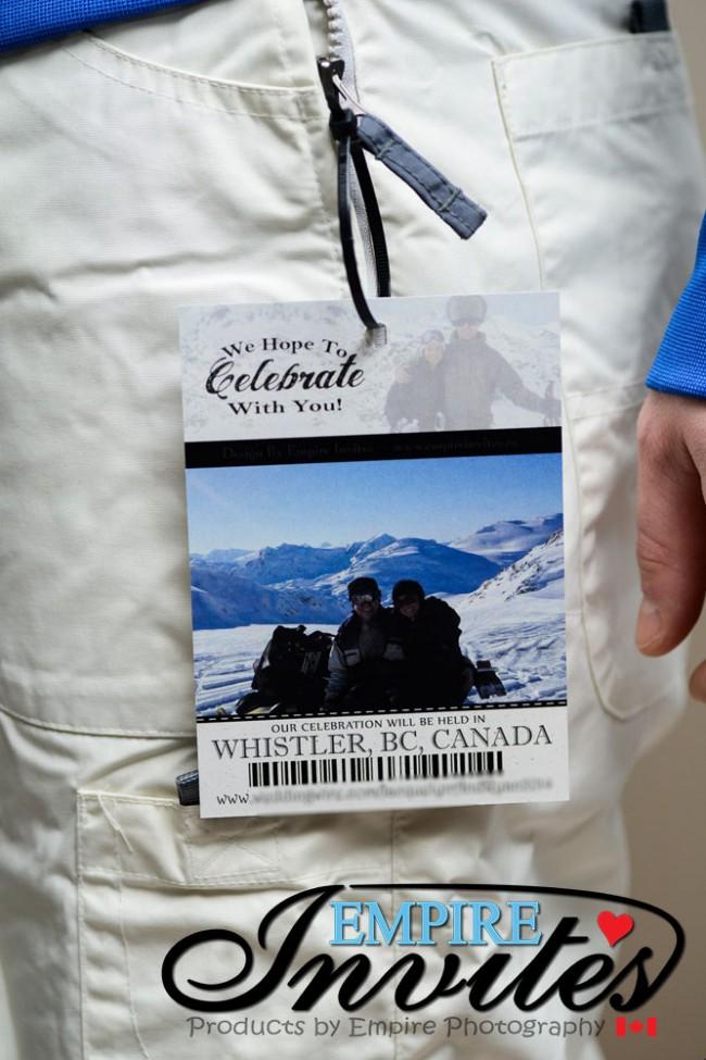 Ski Pass Wedding Invitation Whistler Bc (3)