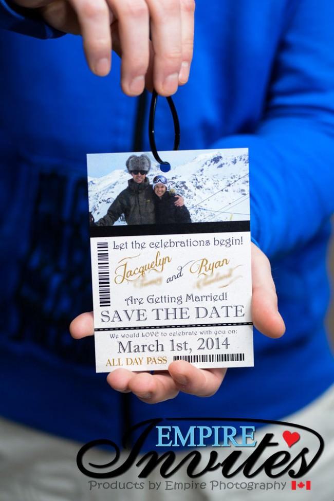 Ski Pass Wedding Invitation Whistler Bc (4)
