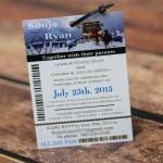 Ski pass wedding invitations snow valley ski club (2)