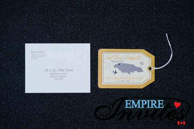 Tan Luggage tag save the date grand rose hall jamaica (4)