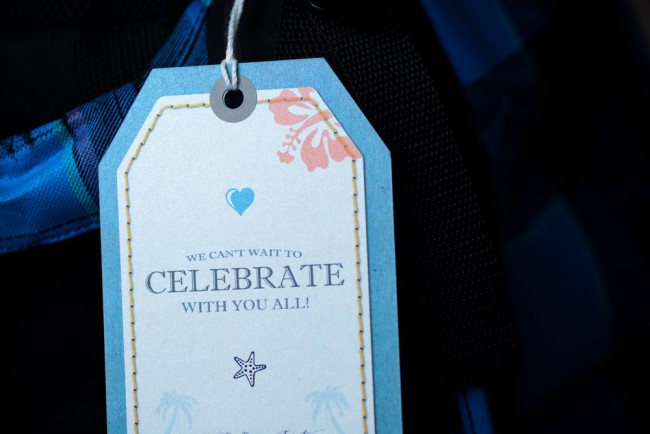 Teal Luggage Tag Invitation Sugar Bay Resort St Thomas (3)