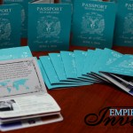 Teal Passport wedding invites to Hard Rock Punta Cana (1)