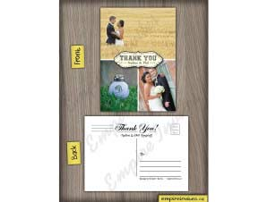Wedding Thank You Card 12