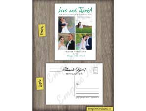 Wedding Thank You Card 18
