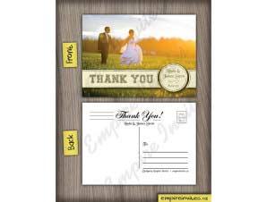 Wedding Thank You Card 5