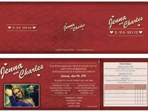 Giselle  –  5×5 Tri-Fold Invite