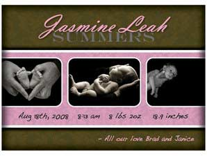 Newborn Announcement 11
