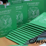 Vibrant green passport invitations to dreams palm beach (3)