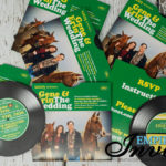 Vinyl Record invitations (15)