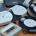 Vinyl Record wedding invitations to Wilmington Deleware (4)