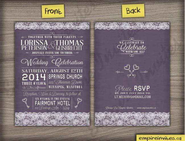 willow vintage wedding invitations key keys