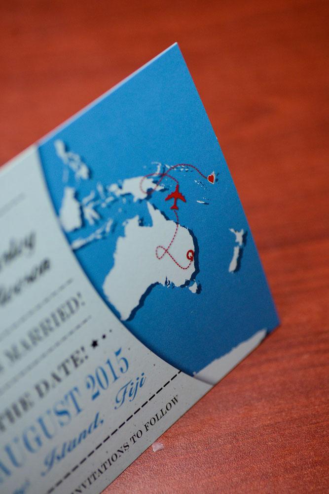 World Map Save The Date Treasure Island Fiji (3) | ---- EMPIRE ...