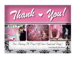 Aurora  –  Thank You Card 1