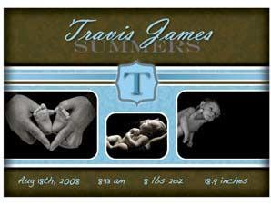 Newborn Announcement 12B