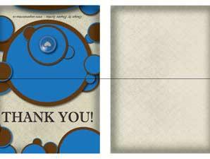 Lethbridge  –  Shower Thank You (Folded)