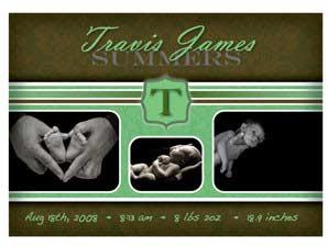 Newborn Announcement 12G