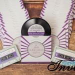 purple disco vinyl record wedding invites (9)